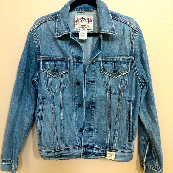 Lovely Distressed Abercrombie and Fitch Jacket